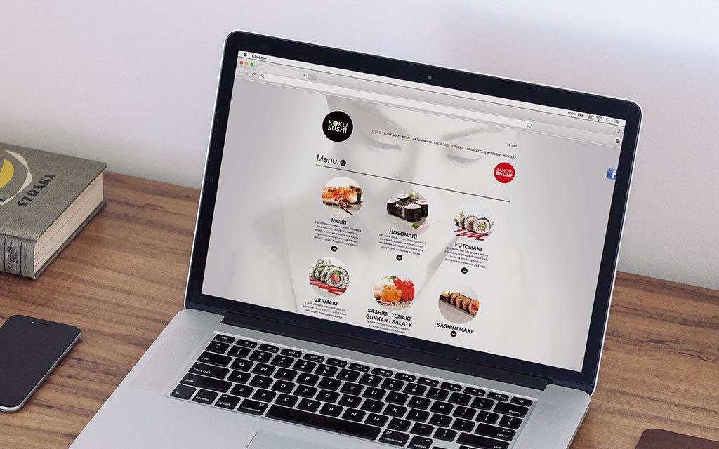 koku sushi - strona www - agencja reklamowa 4e 1