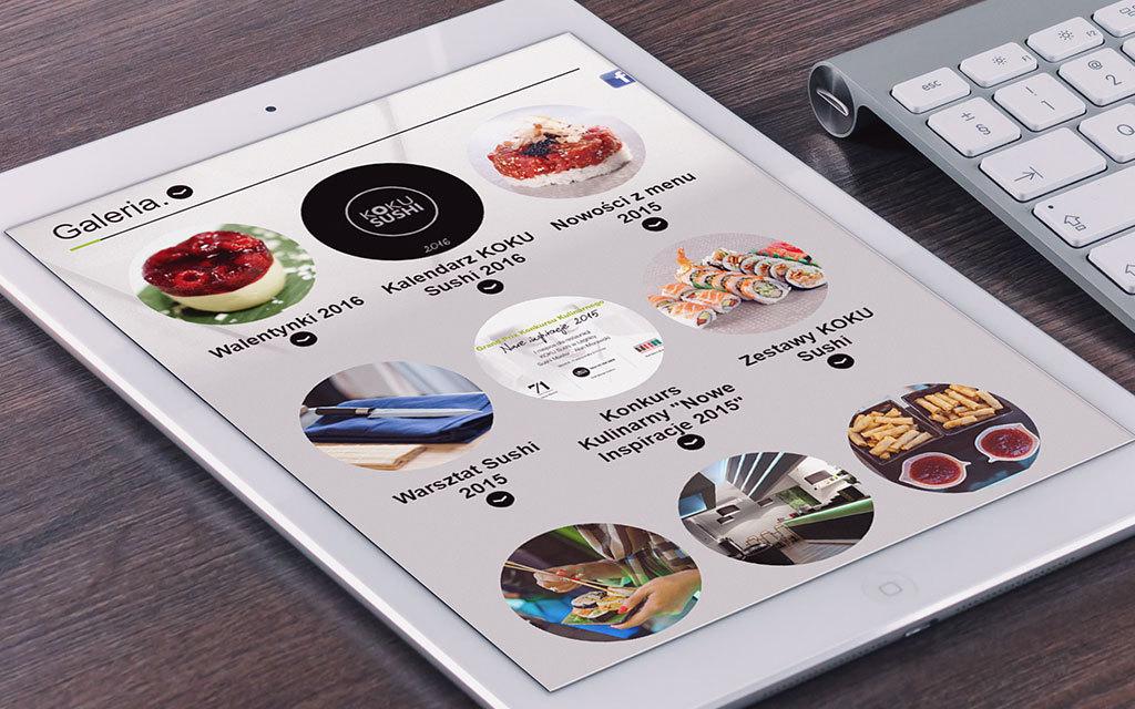 koku sushi - strona www - agencja reklamowa 4e 2