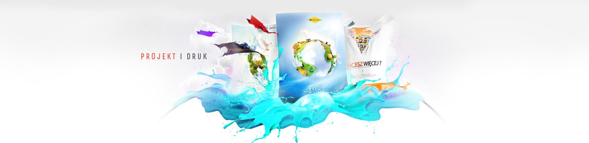 Projekt folderó, katalog produktowy, projekt katalogu