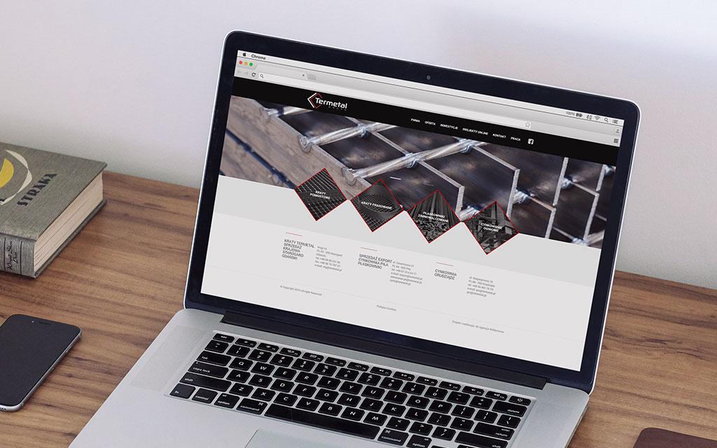 responsywna strona internetowa termetal
