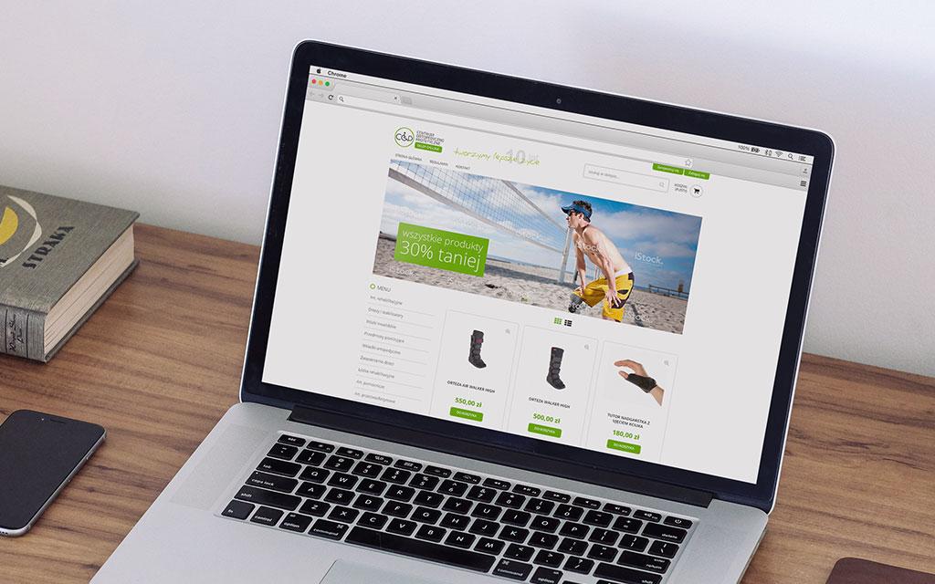 Sklep Online Zaopatrzenia Ortopedycznego Agencja Reklamowa 4e